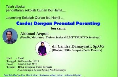 CERDAS DENGAN PRENATAL PARENTING